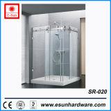 Conceptions de la salle de douche en verre à chaud de la boulonnerie (SR-020)