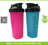 Metal BallのBPA Free 600ml Material Whey Protein Shaker Bottle