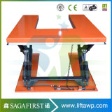1ton 2ton al piccolo tipo idraulico Tabella di elettricità statica U di elevatore del pallet