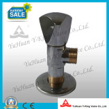 Выкованный латунный угловой вентиль для соединения входа тазика (YD-E5028)
