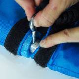 Balai à nœud pliable extensible en nylon Oxford de 100 cm