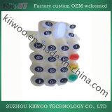 鋳造物のシリコーンゴムのリモート・コントロールキーパッド