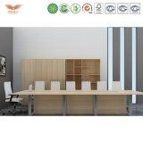 Neuer Art-Melamin MDF-Büro-Sitzungssaal-Schreibtisch-/Oberseite-Endeversammlungstisch