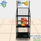 Kundenspezifischer haltbarer Metallstandplatz für Schmieröl-Fußboden-Bewegungsöl-Bildschirmanzeige-Zahnstange