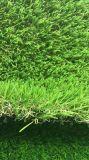 Erba artificiale diritto curva di resistenza UV durevole Mixed