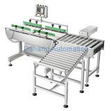 La cinta transportadora Controladora de peso para la Industria de Alimentos y Bebidas