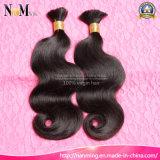 100% non-fausses cheveux en vrac Virgin Remy tissage de cheveux brésilien (QB-BULK-BW)