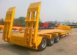 4 Axles 80 тонн низкого затяжелителя низкий кровати трейлер Semi