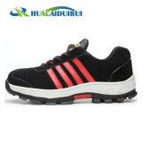 新式のスエードの革労働者の安全靴