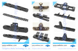 標準外交通機関のステンレス鋼の倍ピッチのローラーの鎖、DIN8187、カスタマイズされるDIN8188