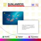 Cartão esperto do PVC do cartão em branco de Ntag 213 RFID NFC