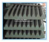 A Sandvik Metso britador de mandibula partes separadas as placas de garras para Serviço Pesado