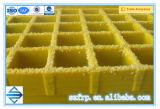Weght ligero, reja reforzada fibra de vidrio del polímero FRP GRP de la resistencia a la corrosión
