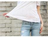 Высокое качество бамбук хлопок женские блуза производителя