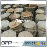 Prateleira de ardósia natural da ardósia irregular Tile Flag Stone para pavimentação de jardim