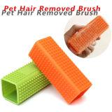 Novo Design Útil Cômoda Pet Brush Silicone Pet Hair Slicker