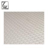 201/304/316 Linse-Typ Edelstahl-Checkered Blatt