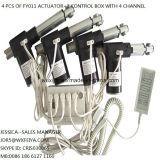 1000N eléctrica 150mm Stroke Presidente piezas de los actuadores lineales