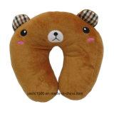 연약한 채워진 곰 목 베개