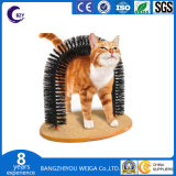 Het Verzorgen van de Kat van Scratcher van de Borstel van de kat de Boog van de Massage van de Kat van de Boog