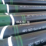 Tubo d'acciaio del pozzo di petrolio del tubo dell'intelaiatura del pozzo d'acqua con il tipo senza giunte della saldatura