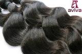 Wellen-peruanische natürliche Jungfrau-Haar-Extension lösen
