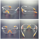 Fashionable Frameless type Safety Eyeglass with softly PAD (SG102)