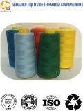 Draad van de Stof van de Polyester van meer dan 1800 de Kleuren kern-Gesponnen 100% Textiel Naaiende