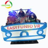 L'argent réel de l'imprimante 6 chaises Easyfun 9D VR Racing Simulateur de tir de cinéma