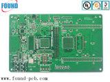 6 Capas la mitad de los agujeros de PCB Platting Edge