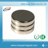 N42 D15X3mm常置ディスクネオジムの磁石のNdFeBの強い磁石