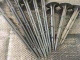 プラスチック止め釘または釘が付いている地面への固定の霜カバー