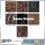 Mattonelle di pavimento di marmo del Brown con rivestimento Polished ampiamente usato in pavimentazione/parete/tavolo della costruzione