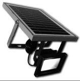 PIRの動きセンサーの機密保護の屋外の太陽LEDのフラッドライト