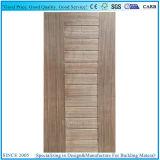 5 peau normale de porte de Sapelli HDF de panneau/feuille en stratifié de panneau de porte