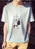 Le T-shirt 100% des hommes d'impression de coton de nouveau model