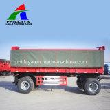 LKW-Schlussteil-Ladung-Karosserien-hydraulischer Kipper-voller Schlussteil