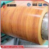Feuille de la bobine en aluminium à revêtement de couleur pour les portes (AE-306)