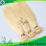 7A Grade Golden 브라질 Virgin Hair Remy Human Hair Extension