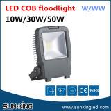 Epistar Bridgeluxチップ投射の木構築の白い5000K 110V 220V 10W 30W 50Wの穂軸LEDの商業洪水ライト