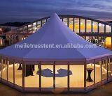 Saled chaud PVC Mur 6m pagode hexagonale Dome Partie d'auvent