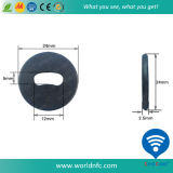 Etiquetas del lavadero de la resistencia térmica de RFID Tk4100