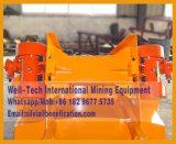 Минирование штуфа утюга Gzg машина фидера медного минерального вибрируя