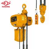 Schang-Hai Hugo blocchetto Chain elettrico di Hsy di 10 tonnellate con il carrello