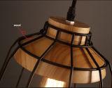 Свет специального напольного античного металла вися с древесиной для трактира
