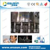 3000bph pequena máquina de engarrafamento de água de capacidade