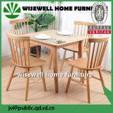 純木のホーム家具のダイニングテーブルセット
