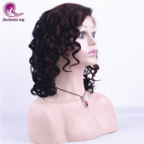 Fashion Top Brown curly Full Lace Wig Nouveau Style