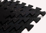 La gomma di collegamento copre di tegoli la pavimentazione/stuoie di gomma