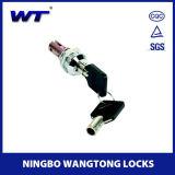 Loquet de verrouillage avec clé maître et système clé à clé amovible